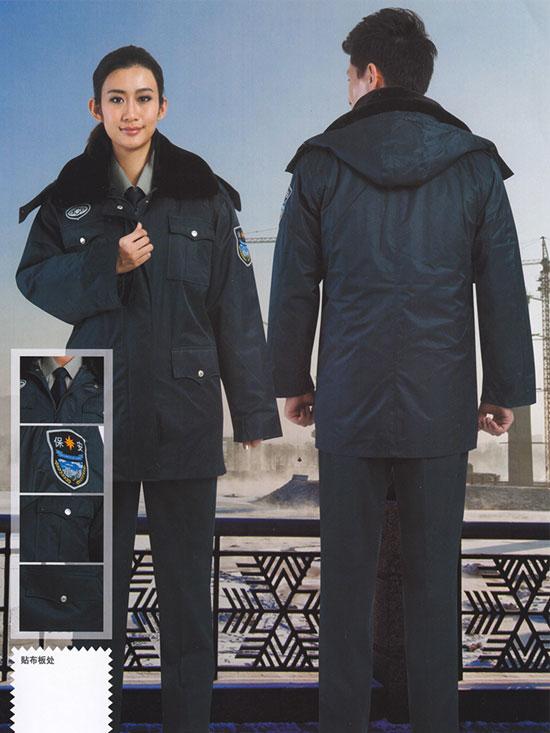 保安服冬装防寒服棉衣