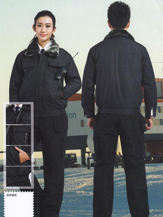 冬季保卫外勤棉衣棉服