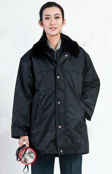 冬季保安物业防寒服