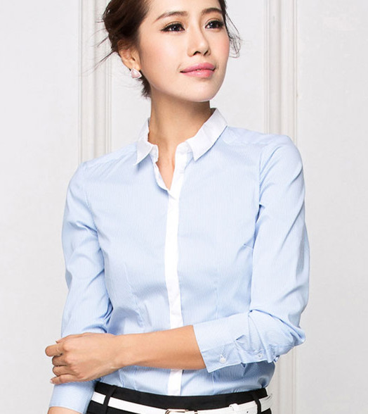 新款职业长袖衬衫