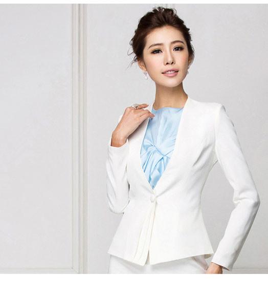 韩版OL燕尾服西装外套