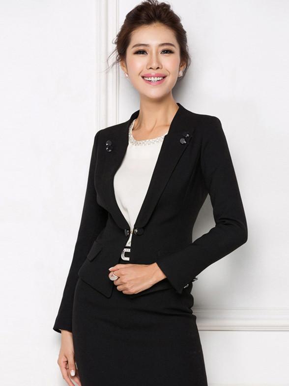 新款职业装女士西装正装韩版OL时尚工作服