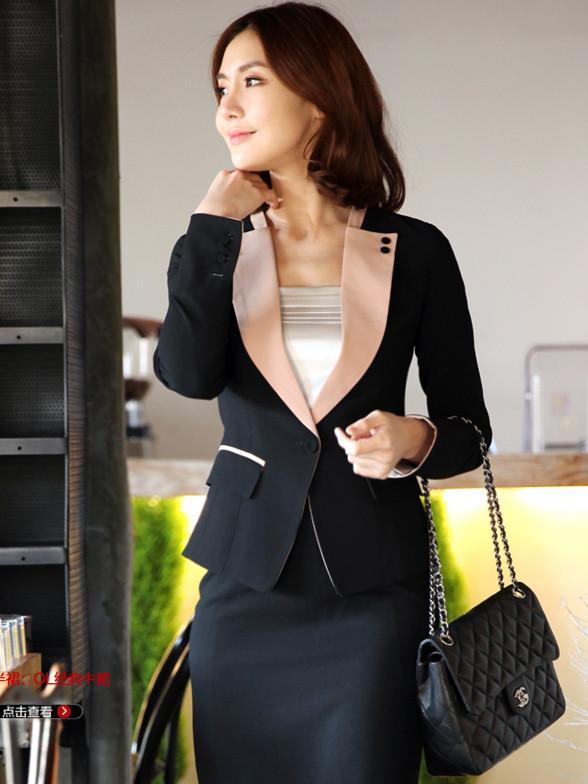 新款职业装女装套装OL女士正装西服