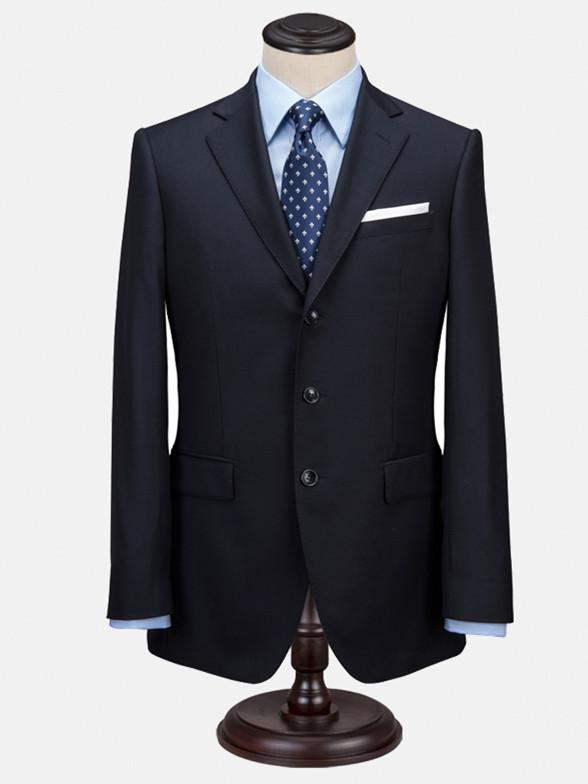 秋季男士高端西服套装修身