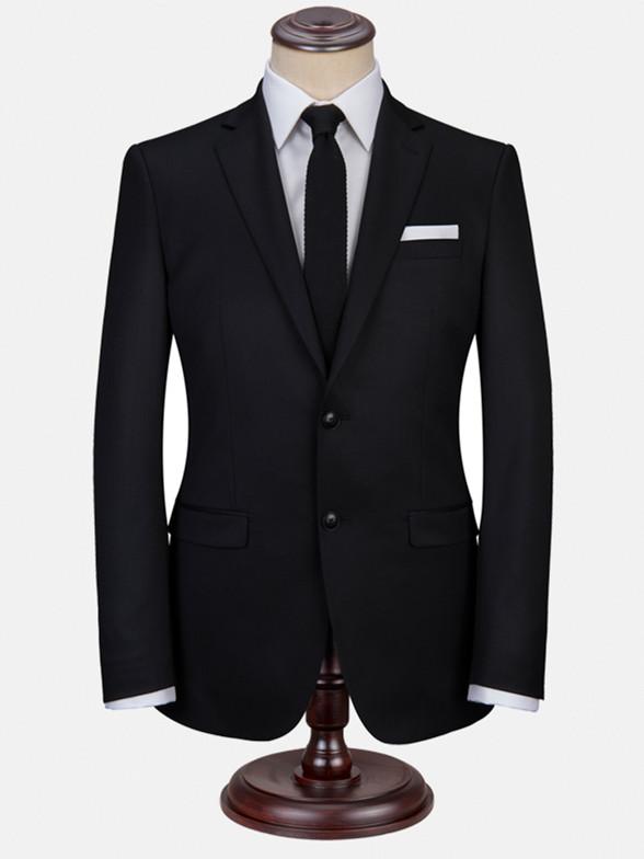 新郎结婚礼服商务装西服套装男