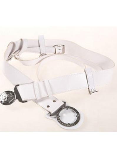 保安配件执勤武装腰带保安装备专用斜跨白色黑色新款