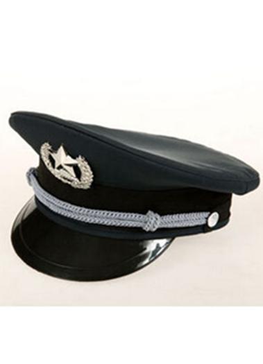 保安服配件组合保安大沿帽物业酒店小区通用正装黑色