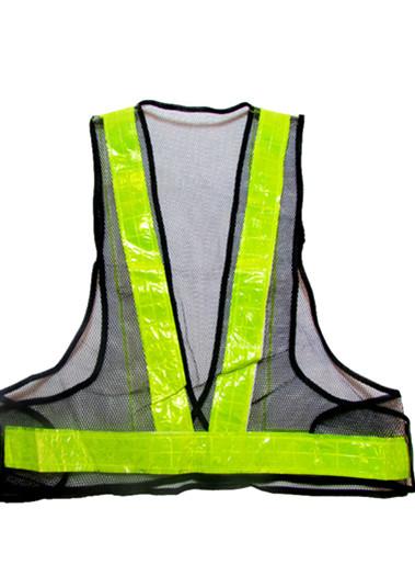 反光马甲反光背心工字型V字型警示服反光安全服骑行背心