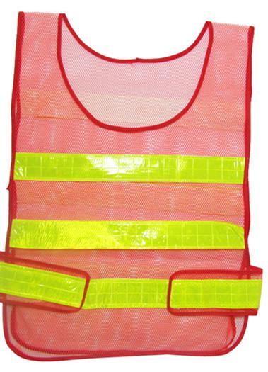 网布背心路政环卫安全背心反光衣反光背心网布交通骑行安全马甲