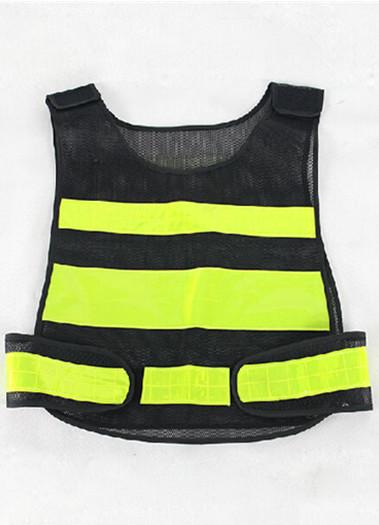 双层加厚反光黑色反光马甲交通安全反光服反光背心反