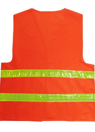 反光背心针织布马甲荧光反光安全服反光马甲路政交通