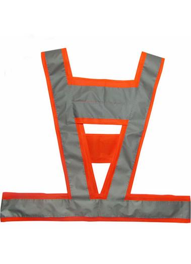反光背心V型反光衣防冻反光工作服环卫马甲可印字