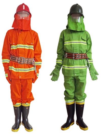 97款消防战斗服阻燃服97式橙桔橘色消防战斗服火灾阻燃服消防