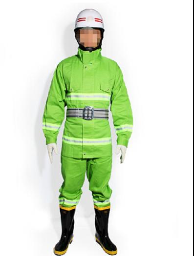 97式绿色消防战斗服火灾阻燃服消防员工作服防护服消防服装