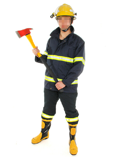 02款消防战斗指挥服灭火防护服装消防阻燃服消防员救